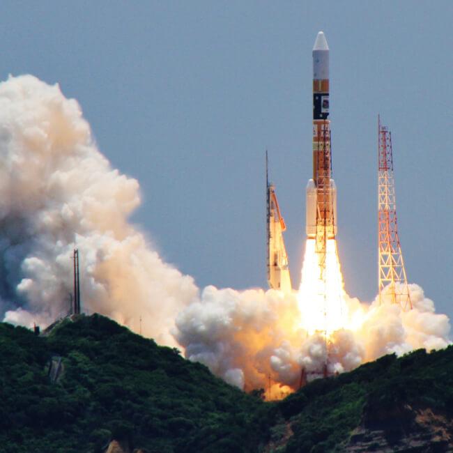 ロケット打ち上げ支援試験